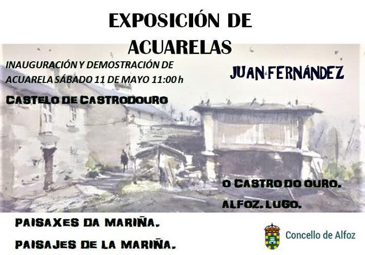 EXPOSICIÓN DE ACUARELAS.