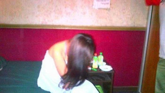 Pasangan Mesum Bawa Balita saat Selingkuh di Hotel