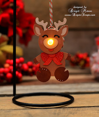 Paper Issues Rudolph With Your Nose So Bright