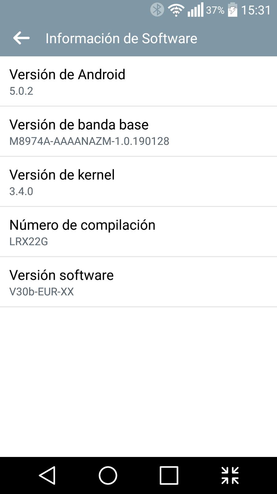 Ya tengo Android 5.0.2 en mi LG G2 (D802)