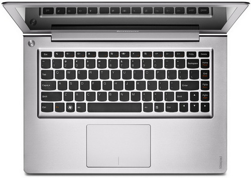 тонкий ноутбук Lenovo IdeaPad U300s