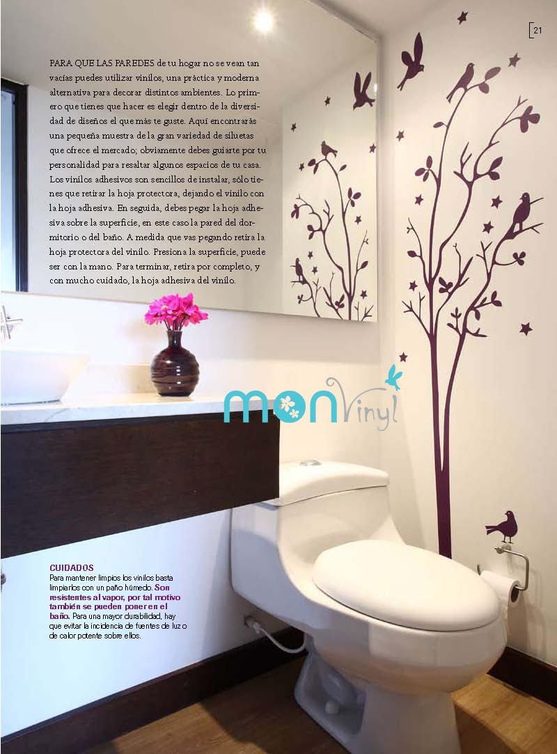 Vinilos decorativos monvinyl de singellum design s a s for Decoracion paredes vinilos adhesivos