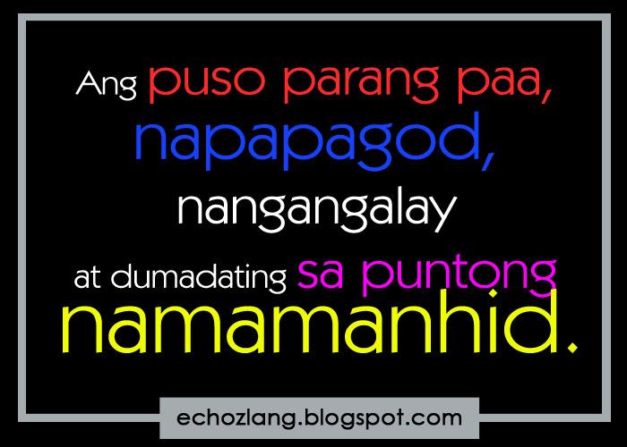 tagalog quotes para sa sarili quotesgram