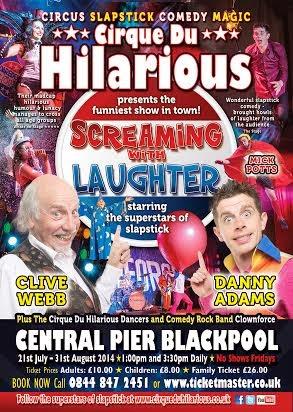 Cirque Du Hilarious, Circus in the UK, Family entertainment