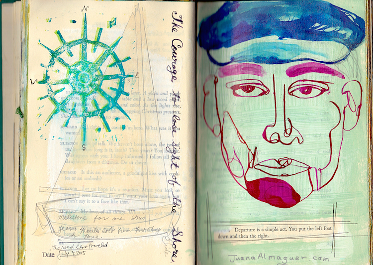 juana almaguer journal pages