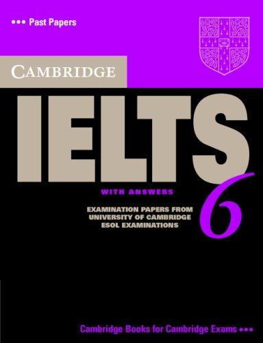 Cambridge IELTS 6 Student Book with answers