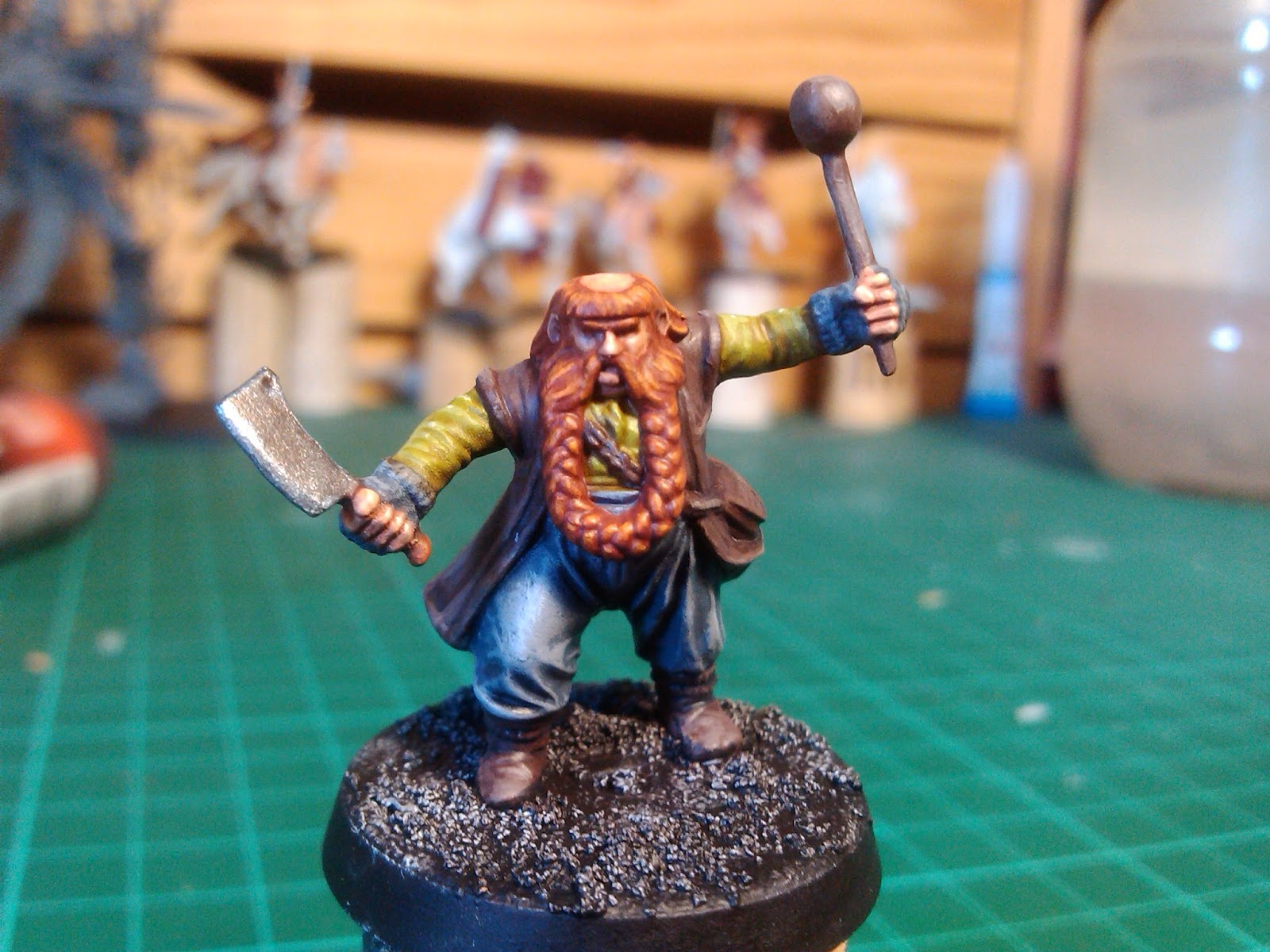 CraftWorld Yggdrasil: Cómo se hizo: Bombur