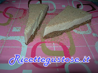 cheesecake al caffe e yogurt  , ricetta cheesecake