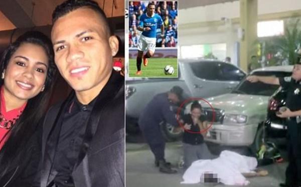 KEJAM! Bekas Pemain Bola Sepak Ditembak Mati Di Depan Isteri