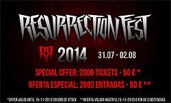 Fechas y primera confirmación del Resurrection Fest 2014