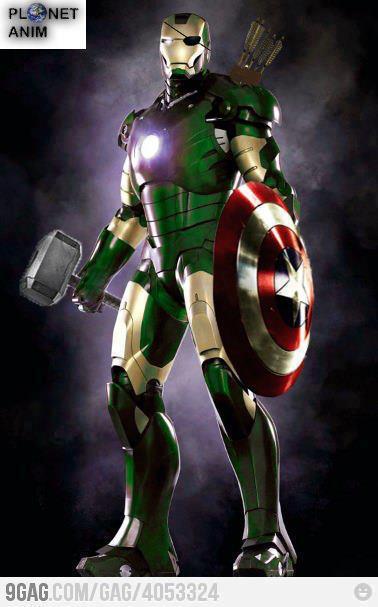 Iron man 2012 2013