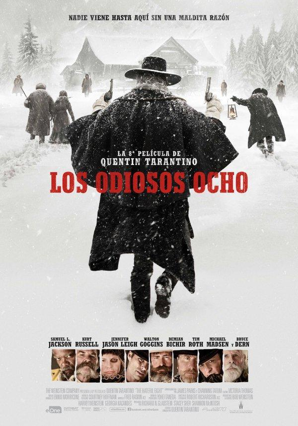 Descargar Los odiosos ocho 2015 DVD S Castellano España