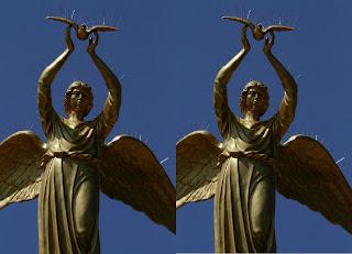 Добрый ангел мира в Донецке