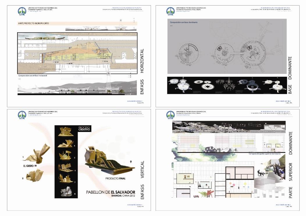 T cnicas de representaci n de laminas arquitect nicas for Tecnicas de representacion arquitectonica pdf
