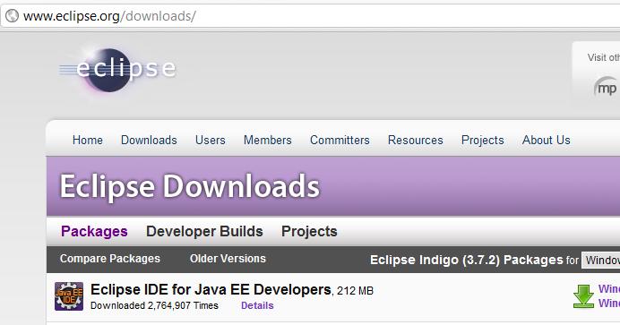 eclipse java windows application tutorial