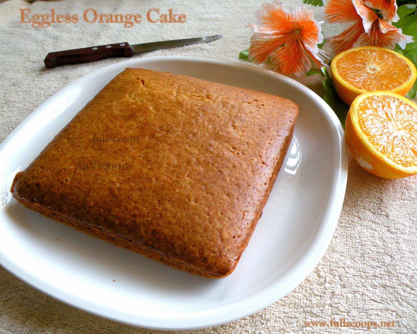 Eggless Orange Cake Recipe By Sanjeev Kapoor
