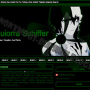 Download Template Blog Dark Green Ulquiorra Schiffer
