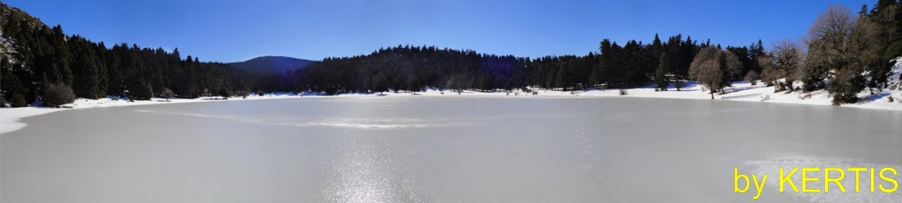 PERFECT  FROZEN LAKE  NEVROPOLIS