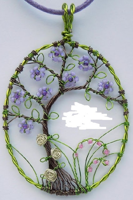 unique wire wrapping artwork