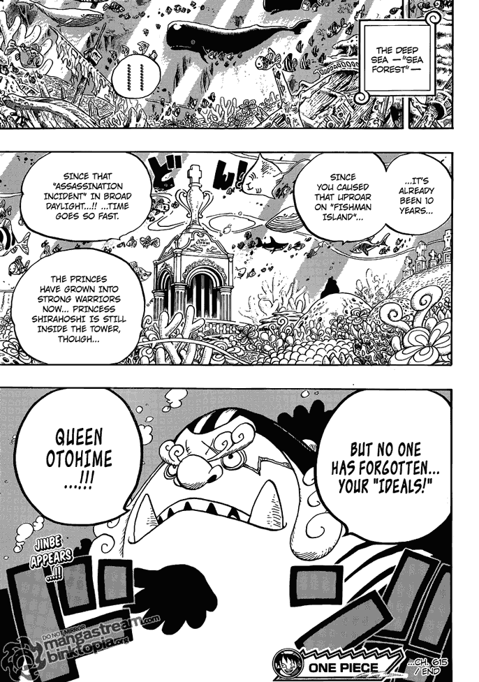 Read One Piece 615 Online | 16 - Press F5 to reload this image