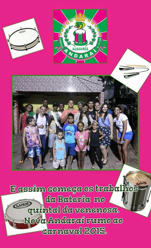 Ensaios das escolas de samba 2015