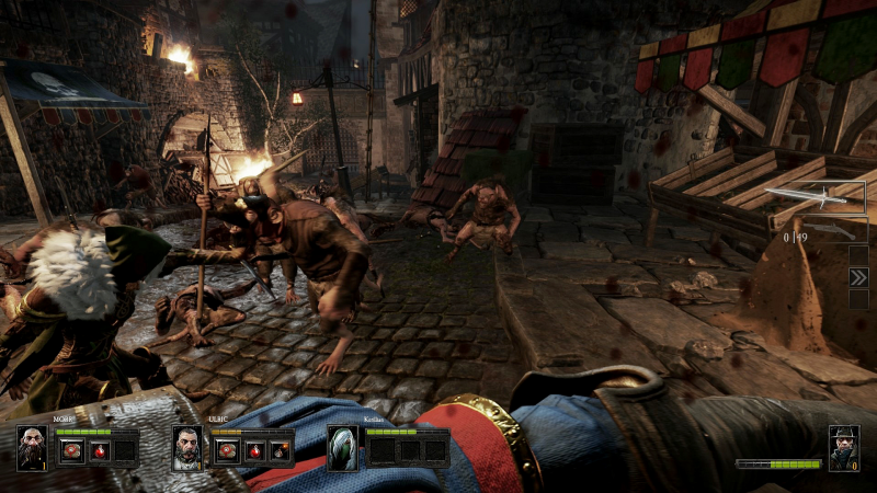 Warhammer: end times vermintide trailer puts the dwarf ranger in