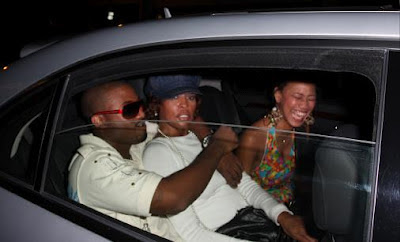 pictures of whitney houston and ray j
