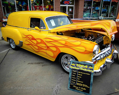 Top 5 Car Show Photography Tips: 1954 Sedan Delivery