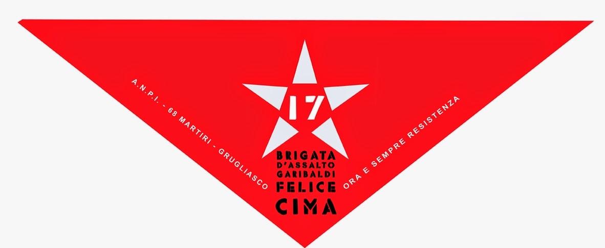 SONO ARRIVATI I NUOVI FOULARD DI SEZIONE IN MEMORIA DELLA 17° BRIGATA GARIBALDI!
