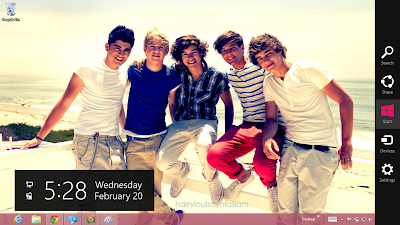 One Direction Theme Windows 7 Theme, 2013 One Direction Windows 7 And Windows 8 Theme, One Direction Theme For Windows 7 And Windows 8, One Direction Wallpaper Desktop