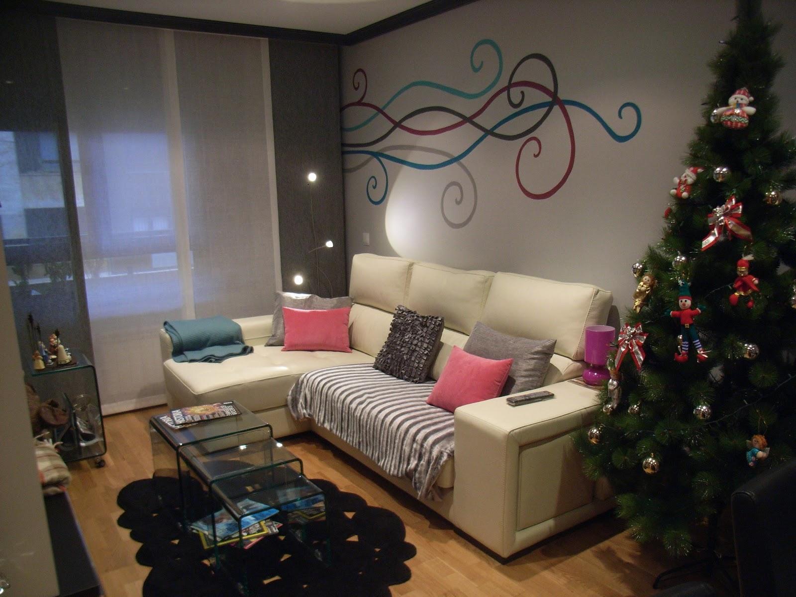 Mimoum blog pintura decorativa y mural en sal n comedor - Pintura para salon comedor ...