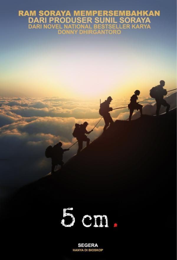 Resensi Novel 5 Cm | Sinopsis Film 5 Cm | Video Trailer Film 5 Cm