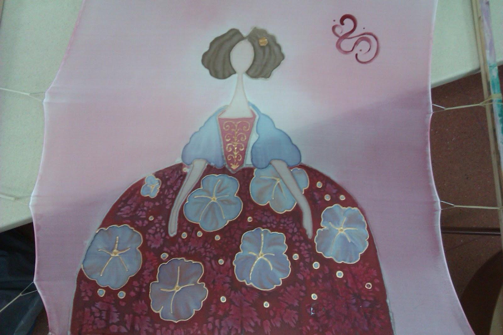 Si te gusta la artesania.. no dejes de ver pañuelos de seda pintados a mano