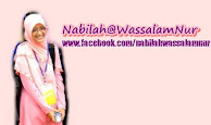 Jom borak dengan Nabilah di Facebook... ^_^