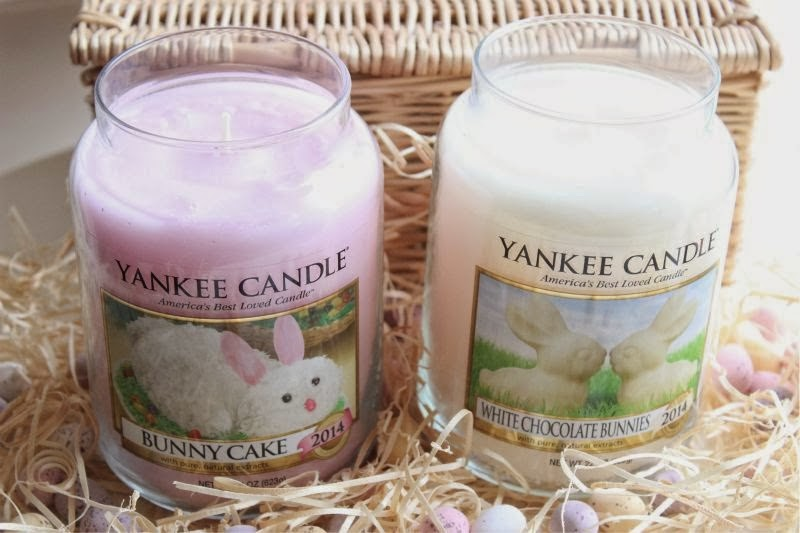 Yankee Candle Easter Bunny Cake Candle 2015