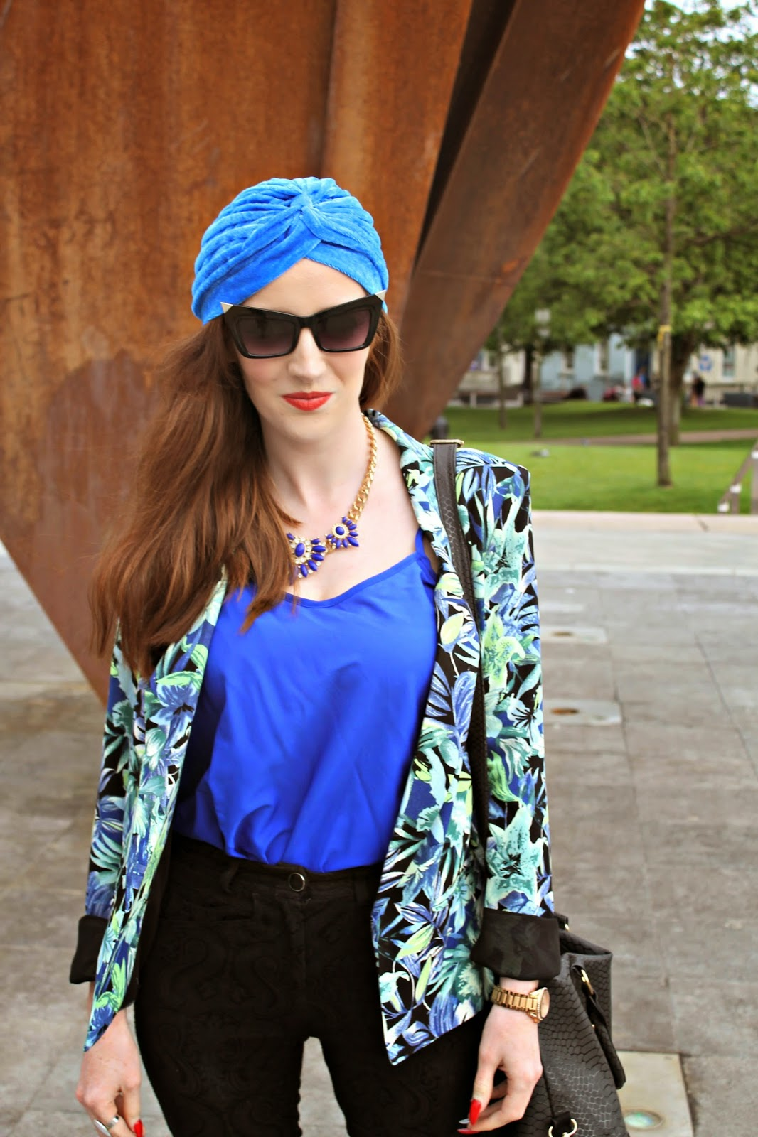 Bec Boop turban fashion