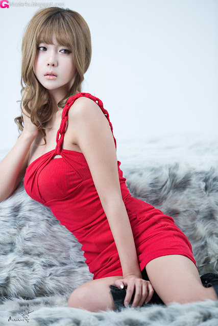 7 Heo Yoon Mi - Red Hot-very cute asian girl-girlcute4u.blogspot.com
