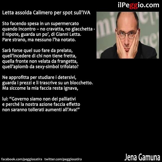 Enrico Letta Twitter: Il Peggio: Giugno 2013