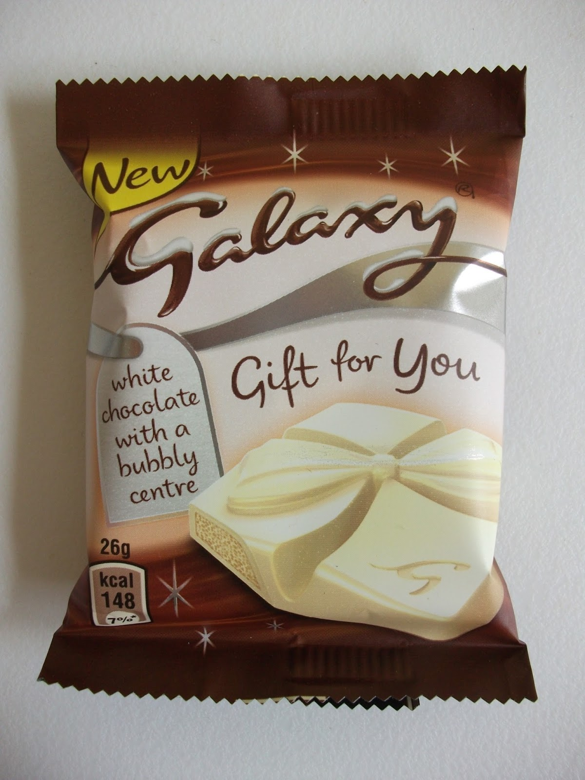 Kev's Snack Reviews: Galaxy Gift For You White Chocolate with a ...