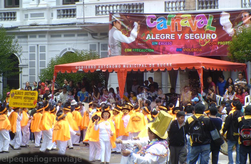 Sucre Bolivia carnaval