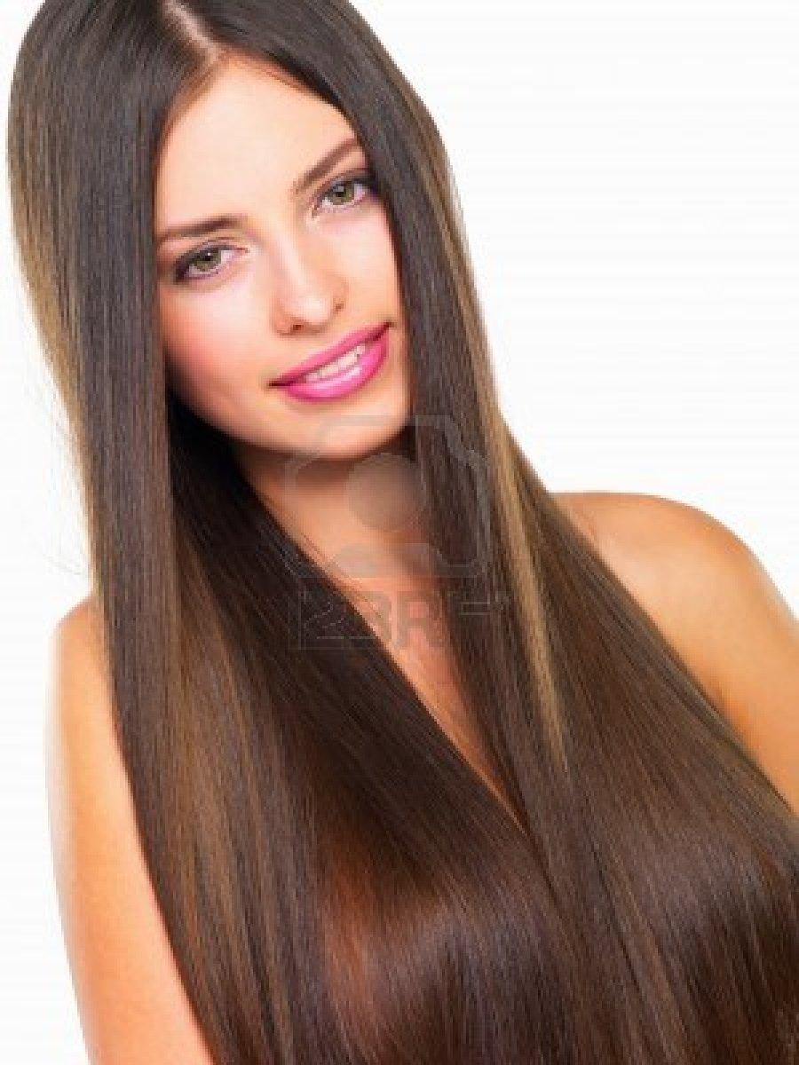 peinados de moda con el pelo planchado