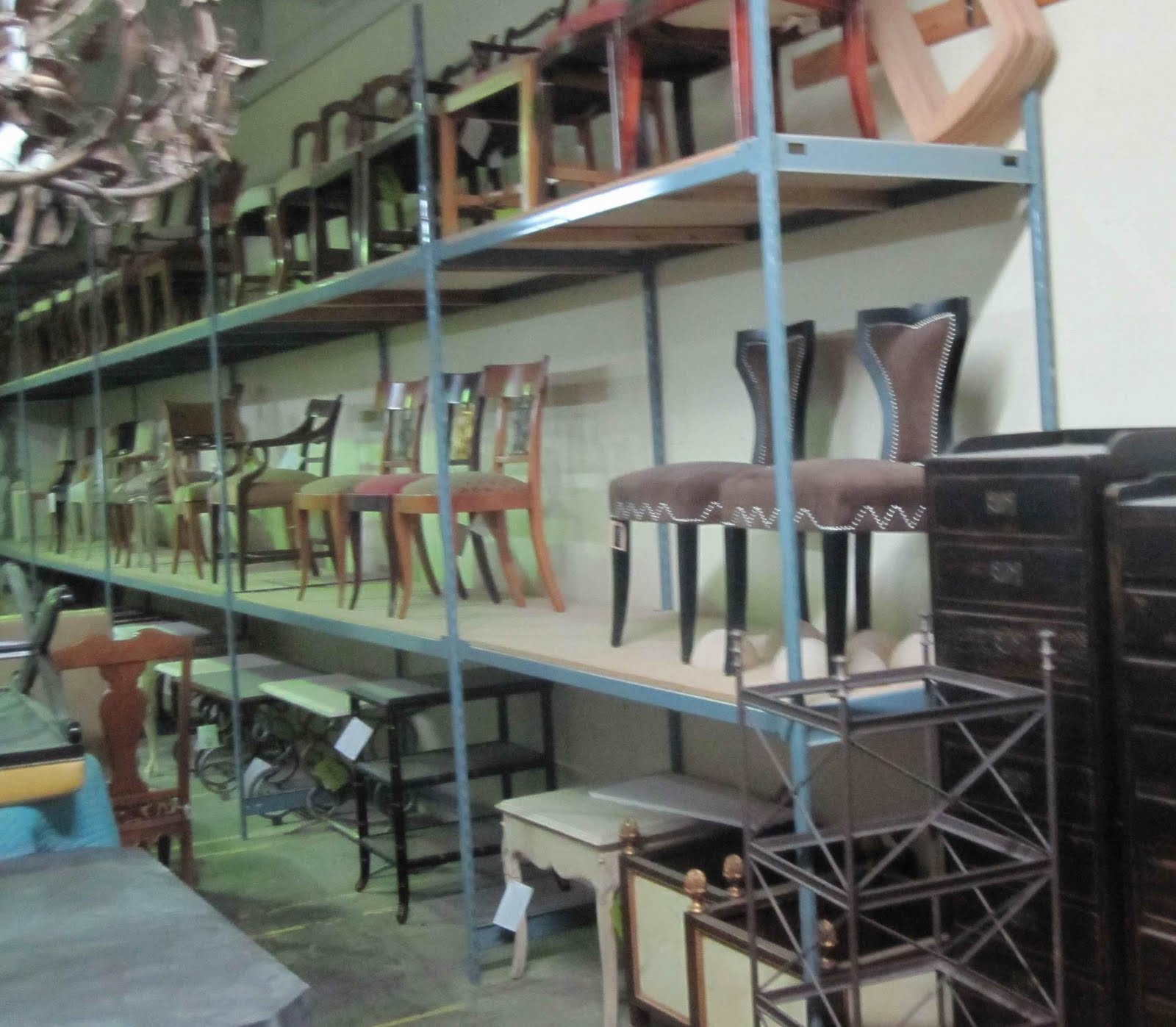 Furniture That Had Been Returned And Would Be Sold In A Once Yearly Sale.