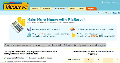 Earn Cash With Free File Hosting & Sharing Site