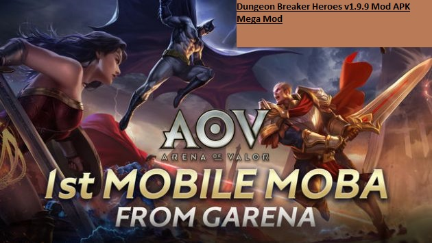 Garena AOV Arena of Valor v1.24.1.2 Mod APK Map Mod