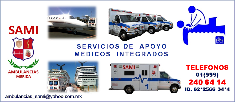 AMBULANCIAS SAMI  MERIDA YUCATAN