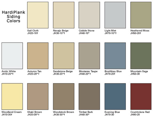 The outdoor series shut the door for Lp siding colors