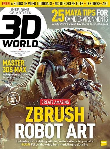 3D World Magazine January 2015