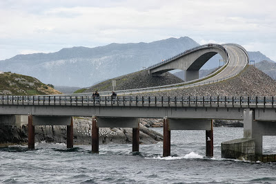 Atlantic Ocean Road National Tourist Route Norway