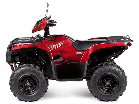 2013 Yamaha pictures Grizzly 700 FI Auto 4x4 EPS LE ATV. 480x360 pixels