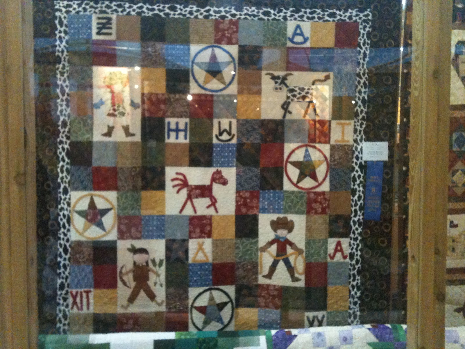 MINI QUILT SHOW FROM HOUSTON LIVESTOCK SHOW | The Quilting Queen ... : quilting houston - Adamdwight.com